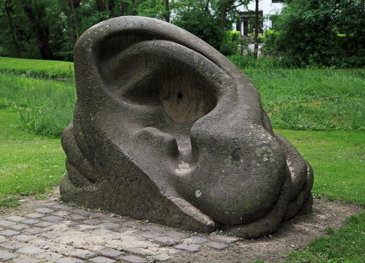 sculpture auricle ear stone rock carving stone sculpture stone statue stone figure
