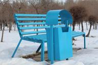 bench-trash-blue-container-outdoor-574719.jpg